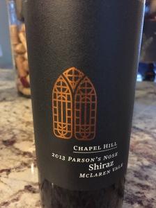 Chapel Hill The Parson's Nose Shiraz