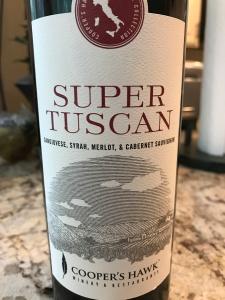 cooper's hawk super tuscan